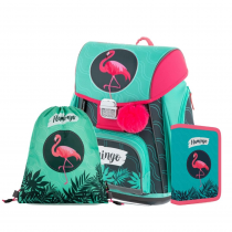 School set Premium Flamingo