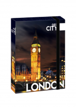 Box na sešity A4 Jumbo GEO CITY London