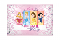 Desk pad 60x40cm Princess