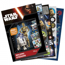 Stickers book 200 pcs Star Wars