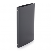 Ringbinder opaque A4, 4 rings antracit