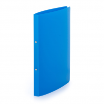 Ringbinder opaque A4, 2 rings azur