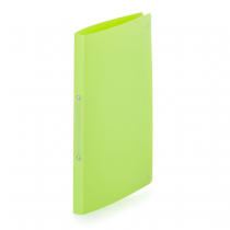 Ringbinder opaque A4, 2 rings lime