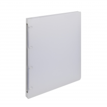 Ringbinder translucent A4, 4 rings Opaline transparent