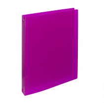 Ringbinder A4 4 rins ELECTRA pink