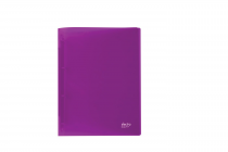 Ringbinder A4 4 rings ELECTRA violet