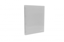 Ringbinder translucent A4 4 rings eCollection transparent
