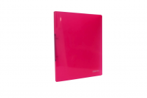 Ringbinder translucent A4 2 rings eCollection pink