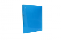 Ringbinder translucent A4 2 rings eCollection blue