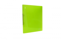 Ringbinder translucent A4 2 rings eCollection green