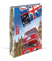Ringbinder A4 2 rings GEO CITY - London