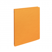 Ringbinder presspan A4 4 rings orange