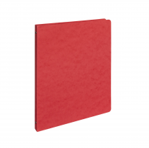 Ringbinder presspan A4 4 rings red