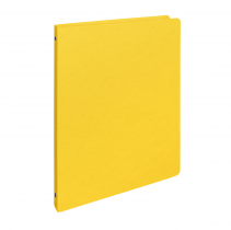 Ringbinder presspan A4 4 rings yellow