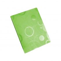 Ringbinder A4 4 rings NEO COLORI green