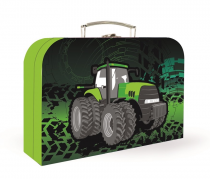 Laminated children's case Tractor