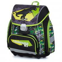 School Backpack PREMIUM T-rex