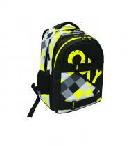 Student backpack OXY One Yellow