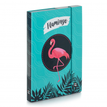 Heftbox A4 Flamingo