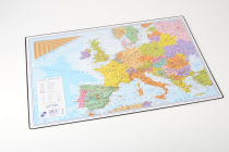 Desk pad 60x40cm double sided The Czech Republic + Europe
