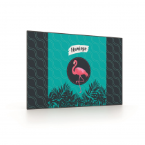 Desk pad 60x40cm Flamingo