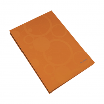 Signature book plastic NEO COLORI 14 pages orange