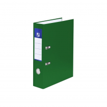 Lever arch file A4 5cm laminated green