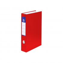 Ringbinder A4 laminated D25 4 rings red