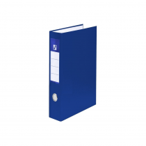 Ringbinder A4 laminated D25 4 rings blue
