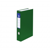 Ringbinder A4 laminated D25 4 rings green