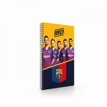 Twin wire blok A4 Soft FC Barcelona