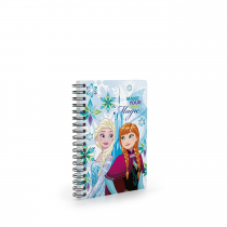 Twin wire notepad A6 Frozen