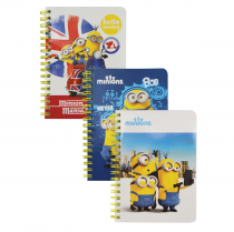 Twin wire notepad A6 MINIONS