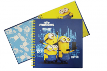 Twin wire notepad MINIONS