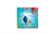 Twin wire notepad Finding Dory