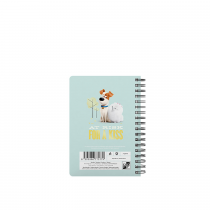 Twin wire notepad A6 Pets
