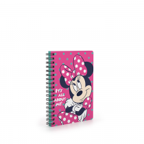 Twin wire notepad A6 Minnie