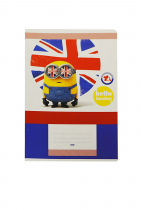 Exercise book A5 513,10 sheets MINIONS