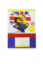 Exercise book A5 523, 20 sheets MINIONS