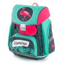 School Backpack PREMIUM Flamingo