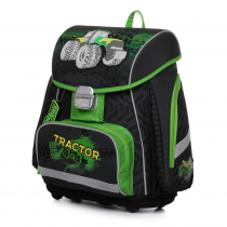 School Backpack PREMIUM Tractor