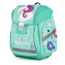 School Backpack PREMIUM LIGHT Unicorn iconic