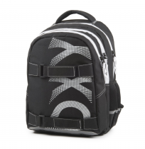 Student Backpack OXY One Wind White
