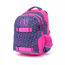 Student backpack OXY One Molekuls Lila