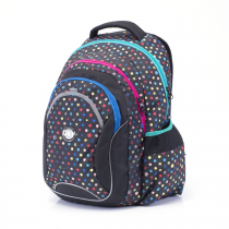 Student backpack OXY Fashion Dots