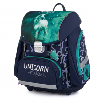 School Backpack PREMIUM Unicorn 1
