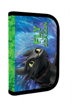 Pencil case unfilled 1 zip/2 flaps How to train your dragon