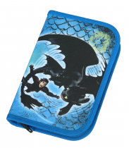 Pencil case filled 1 flap How to Train Your Dragon