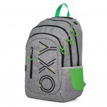 Student's Backpack OXY Campus Grey