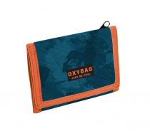 Wallet OXY Style Camo Blue